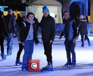 Louis Walsh, Nicholas McDonald and Sam Callahan