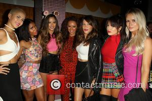 Mel B, Melanie Brown, Natasha Slayton, Paula Van Oppen, Emmalyn Estrada, Simone Battle, Lauren Bennett and Robin Antin