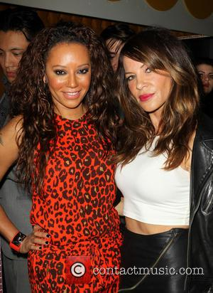 Mel B, Melanie Brown and Robin Antin