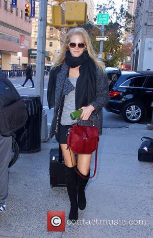 Erin Heatherton - Victoria's Secret Models Outside arrivals at the Armory in NYC - New York City, New York, United...