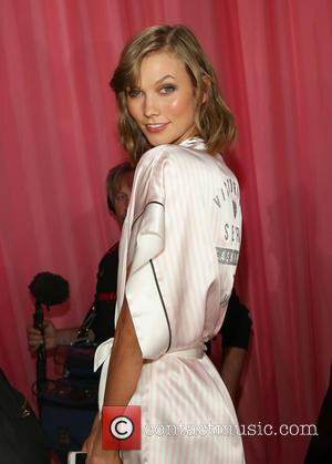 Karlie Kloss - Victoria's Secret Fashion Show at the Lexington Armory - Backstage - New York City, New York, United...