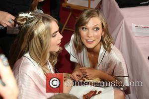 Karlie Kloss and Cara Delevingne