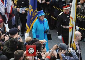 Queen Elizabeth II - Queen Elizabeth II and Prince Philip, Duke of Edinburgh visit Manchester - Manchester, United Kingdom -...