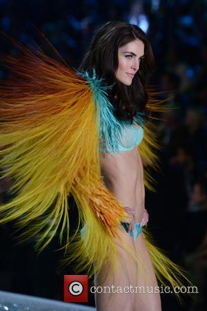Hilary Rhoda - 2013 Victoria's Secret Fashion Show at the Lexington Armory - Runway Show - Manhattan, New York, United...