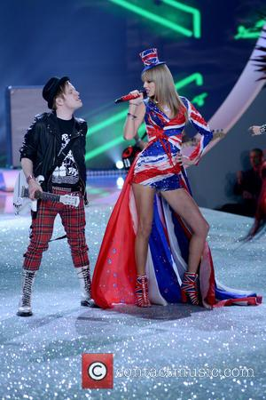 Patrick Stump and Taylor Swift - 2013 Victoria's Secret Fashion Show at the Lexington Armory - Runway Show - Manhattan,...