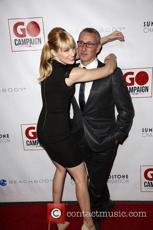 Beth Behrs and Adam Shankman