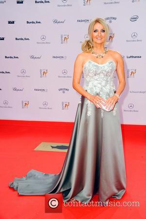 Frauke Ludowig - Bambi 2013 awards at Musical Theater am Potsdamer Platz theatre. - Red Carpet - Berlin, Germany -...