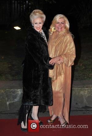 Anita Dobson and Guest - Chain Of Hope Annual Ball held at Supernova - Arrivals. - London, United Kingdom -...