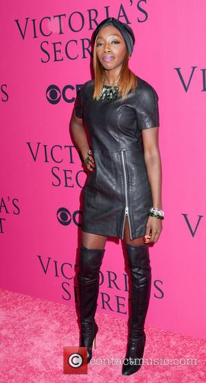 Estelle - Victoria Secret Fashion Show 2013 Pink Carpet - New York, New York, United States - Thursday 14th November...