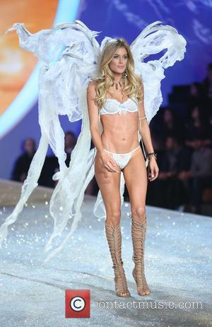 Doutzen Kroes - the runway at the 2013 Victoria's Secret Fashion Show at Lexington Avenue Armory on November 13, 2013...