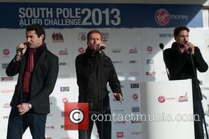 Blake - Walking With The Wounded South Pole Allied Challenge - send-off held at Trafalgar Square. - London, United Kingdom...