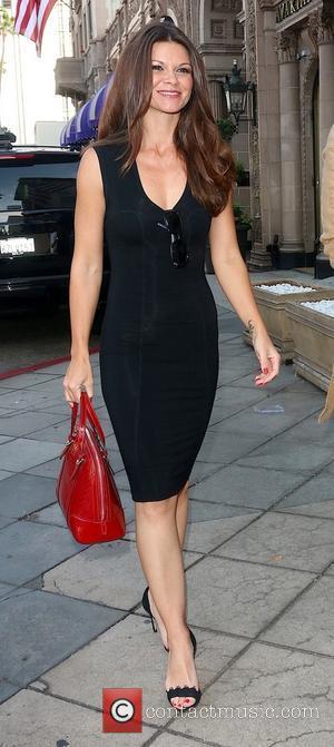 Danielle Vasinova - Danielle Vasinova and Lloyd Klein arrive at The Beverly Wilshire Hotel in Beverly Hills - Los Angeles,...