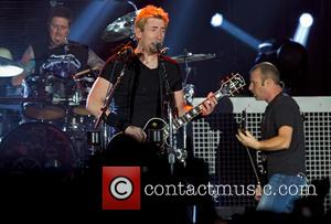 Daniel Adair, Chad Kroeger, Mike Kroeger and Nickelback