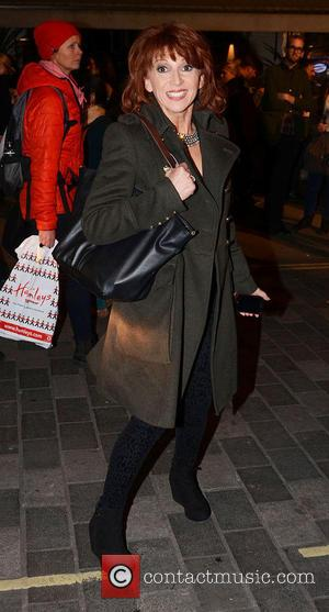Bonnie Langford - Celebrities leave Barry Humphries' Farewell Tour 'Eat Pray Laugh!' press night at The London Palladium - London,...