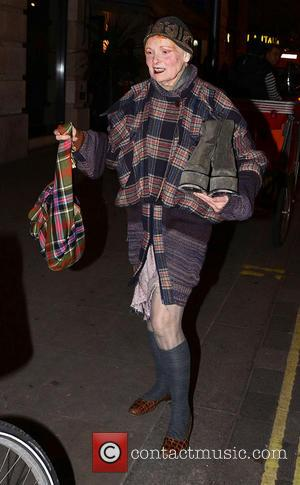 Vivienne Westwood - Celebrities leave Barry Humphries' Farewell Tour 'Eat Pray Laugh!' press night at The London Palladium - London,...