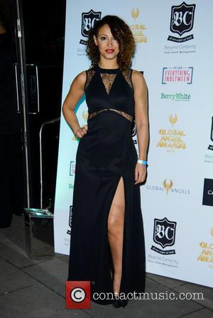 Amelle Berrabah - The Global Angel Awards at the Roundhouse - Arrivals - London, United Kingdom - Friday 15th November...