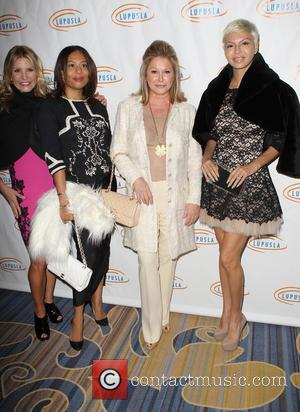 Danya Devin, Kathy Hilton and Guest