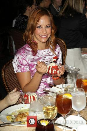 Amy Paffrath - 11th Annual Lupus LA Hollywood Bag Ladies Luncheon_Inside - Beverly Hills, California, United States - Friday 15th...