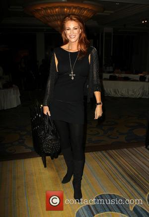 Angie Everhart - 11th Annual Lupus LA Hollywood Bag Ladies Luncheon_Inside - Beverly Hills, California, United States - Friday 15th...