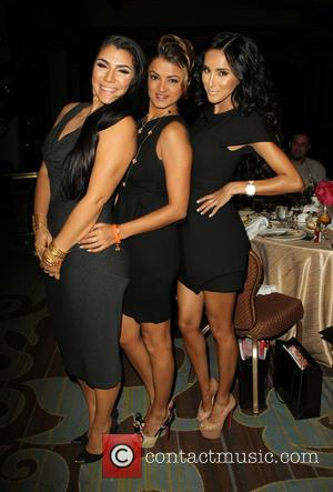 Asa Soltan Rahmati, Golnesa Gharachedaghi and Lilly Ghalichi - 11th Annual Lupus LA Hollywood Bag Ladies Luncheon_Inside - Beverly Hills,...