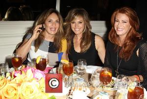 Catherine Bach, Sandra Taylor and Angie Everhart