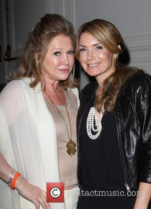 Kathy Hilton and Eden Sassoon - 11th Annual Lupus LA Hollywood Bag Ladies Luncheon_Inside - Beverly Hills, California, United States...
