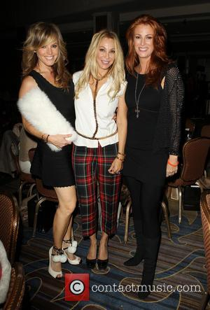 Sandra Taylor, Lisa Pliner and Angie Everhart