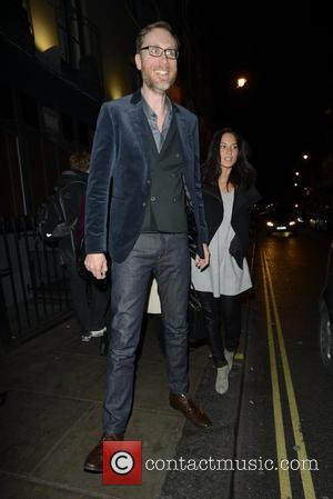 Stephen Merchant and Olivia Munn - Stephen Merchant and Olivia Munn leaving Graucho - London, United Kingdom - Friday 15th...