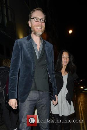 Stephen Merchant and Olivia Munn