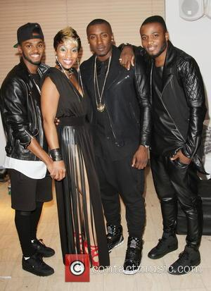 Rough Copy and Adina Howard - The Show R&B Superstars at London's Wembley Arena - Arrivals - London, United Kingdom...