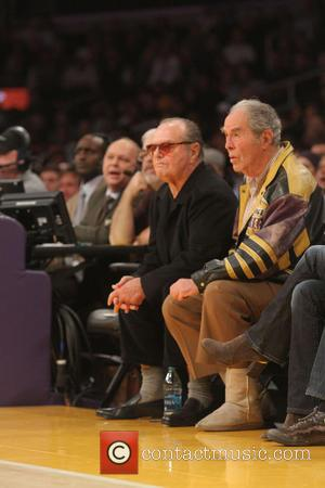 Jack Nicholson - Friday November 15, 2013; Celebs out at the Lakers game. The Memphis Grizzlies defeated the Los Angeles...
