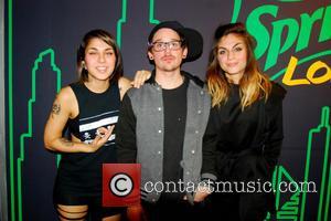 Krewella, Jahan Yousaf, Yasmine Yousaf and Kris Trindl