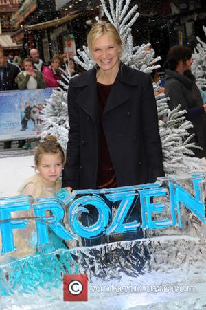 Jo Whiley - Disney's 'Frozen' Celebrity Screening at the Odeon Leicester Square - London, United Kingdom - Sunday 17th November...