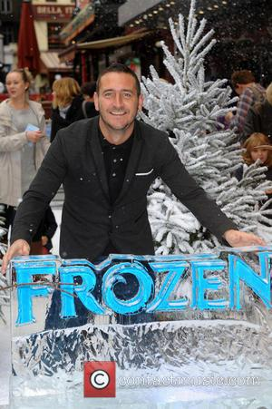Will Mellor - Disney's 'Frozen' Celebrity Screening at the Odeon Leicester Square - London, United Kingdom - Sunday 17th November...