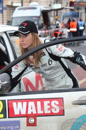 Amy Williams - 2013 Wales Rally GB - Day 4 - Llandudno, Wales, United Kingdom - Sunday 17th November 2013