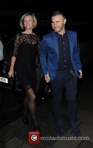 Gary Barlow - X Factor judges arriving at C London restaurant in Mayfair along with their partners for their aftershow...