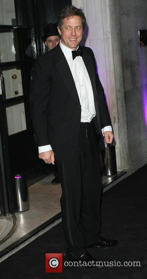 Hugh Grant - London Evening Standard Theatre Awards held at the Savoy - Arrivals - London, United Kingdom - Sunday...