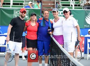David Cook, Chris Evert, Jon Lovitz, Pam Shriver and Alan Thicke