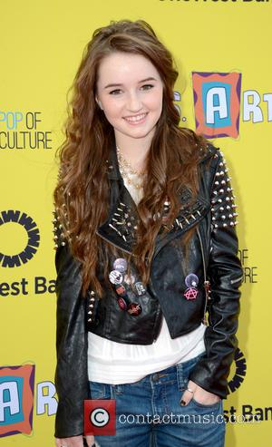 Kaitlyn Dever - Express Yourself 2013 event to benefit P.S. Arts held at Santa Monica Airport - Red Carpet Arrivals...