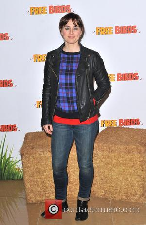 Jill Halfpenny - 'Free Birds' Special Screening held at the May Fair Hotel - Arrivals. - London, United Kingdom -...