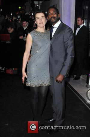 Olivia Williams and Rhashan Stone - London Evening Standard Theatre Awards held at the Savoy - Arrivals. - London, United...