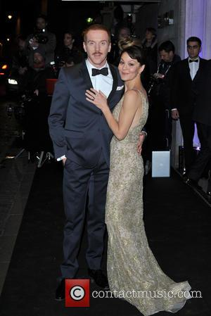 Damian Lewis and Helen McCrory - London Evening Standard Theatre Awards held at the Savoy - Arrivals. - London, United...