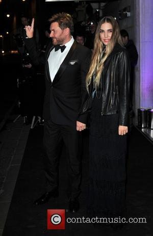 Simon Le Bon and Amber Le Bon - London Evening Standard Theatre Awards held at the Savoy - Arrivals. -...