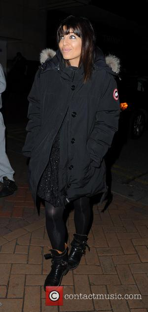 Claudia Winkleman - Strictly Coming Dancing Blackpool - Manchester, United Kingdom - Sunday 17th November 2013
