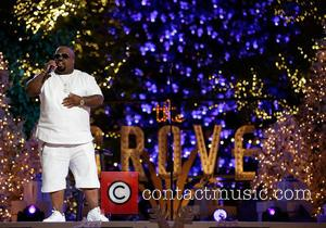 Cee Lo Green - The Grove's 11 Annual Christmas Tree Lighting Spectacular presented by Citi at The Grove - Los...