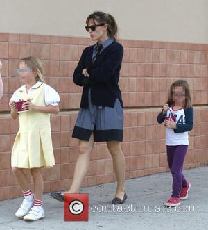Jennifer Garner, Violet Affleck and Seraphina Affleck