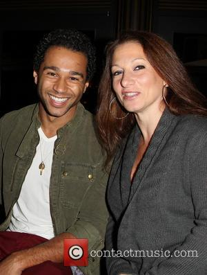 Corbin Bleu and Martha Callari Reivers - 11th Annual Christmas Tree Lighting Spectacular at The Grove Ceremony - Los Angeles,...