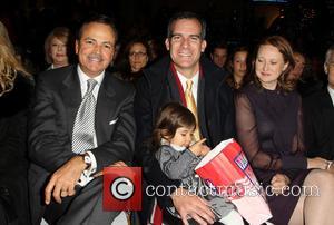Rick Caruso and Los Angeles Mayor Eric Garcetti