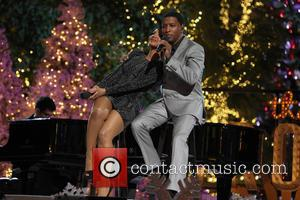 "Toni Braxton and Kenny ""Babyface"" Edmonds - 11th Annual Christmas Tree Lighting Spectacular at The Grove Ceremony - Los Angeles,..."