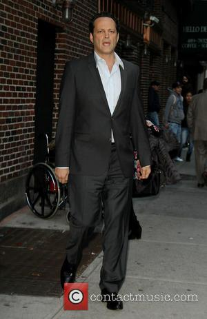 Vince Vaughn - Celebrities outside the Ed Sullivan Theater for the 'Late Show with David Letterman' - New York, United...